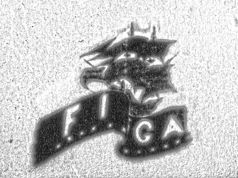 Старинный логотип киностудии FIGA