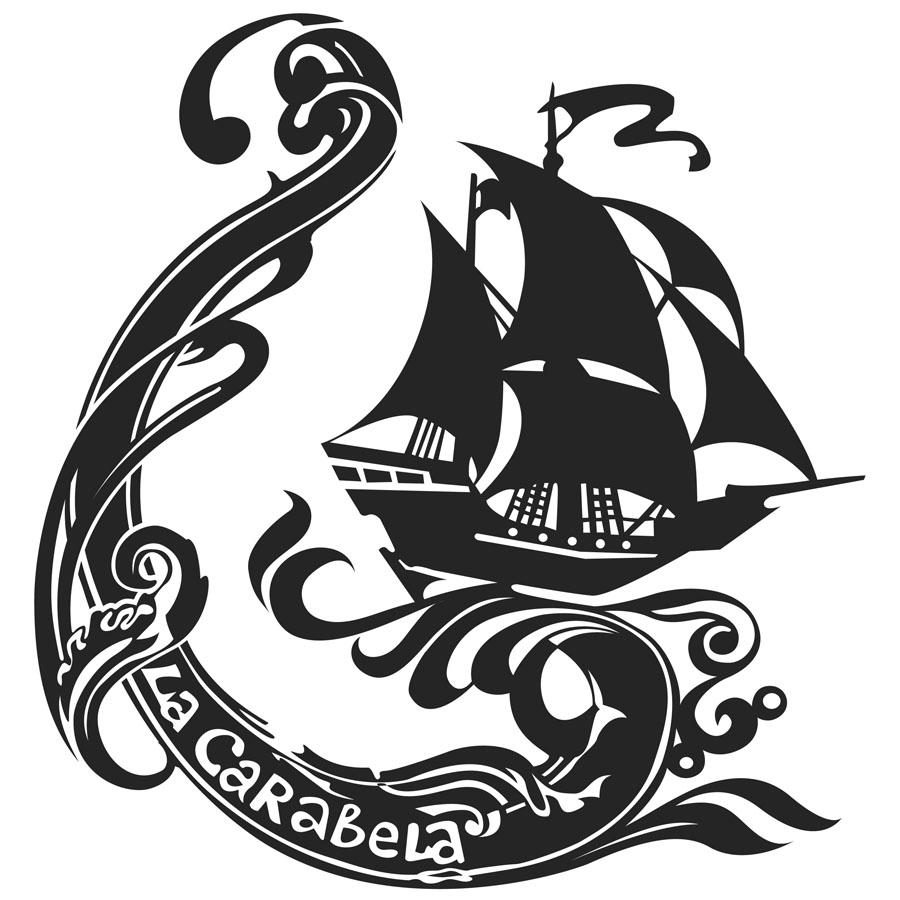 """Официальный логотип отряда """"Каравелла"""""""