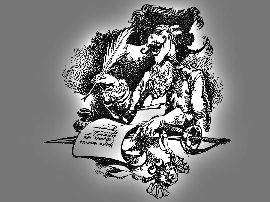 рисунок Евгении Ивановны Стерлиговой, почётного командора