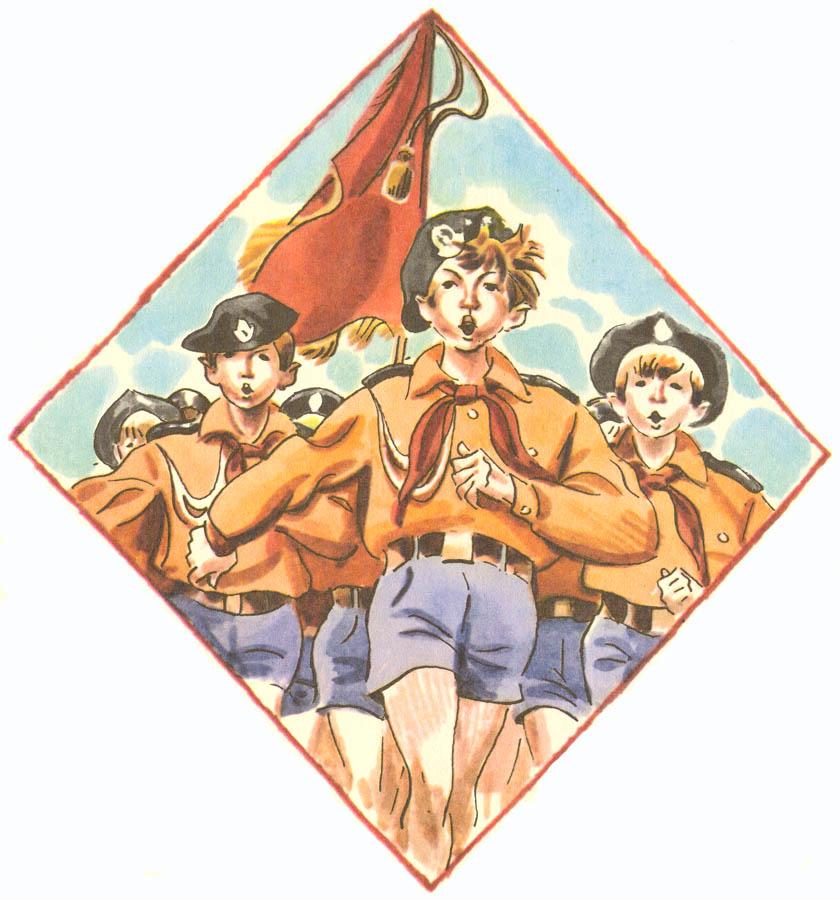 Каравелльцы бывают разные (рисунок Е.А. Медведева)