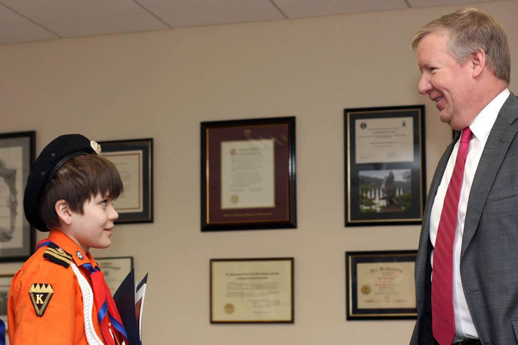 Встреча с консулом Майклом Д. Рейтнертом