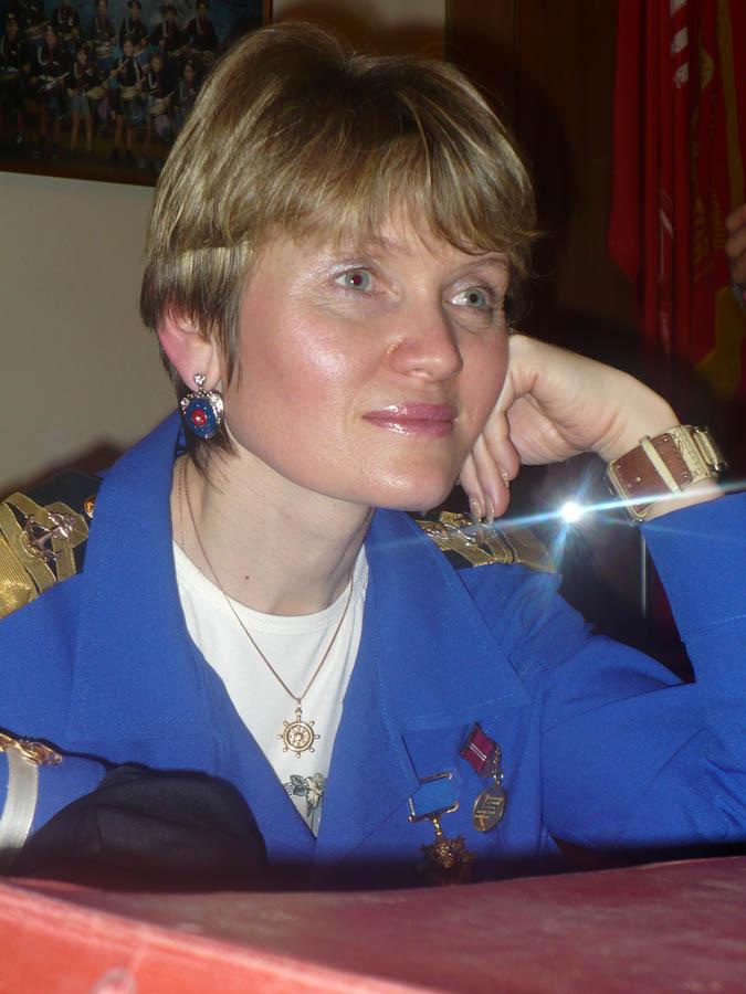 Лариса Крапивина - командор отряда