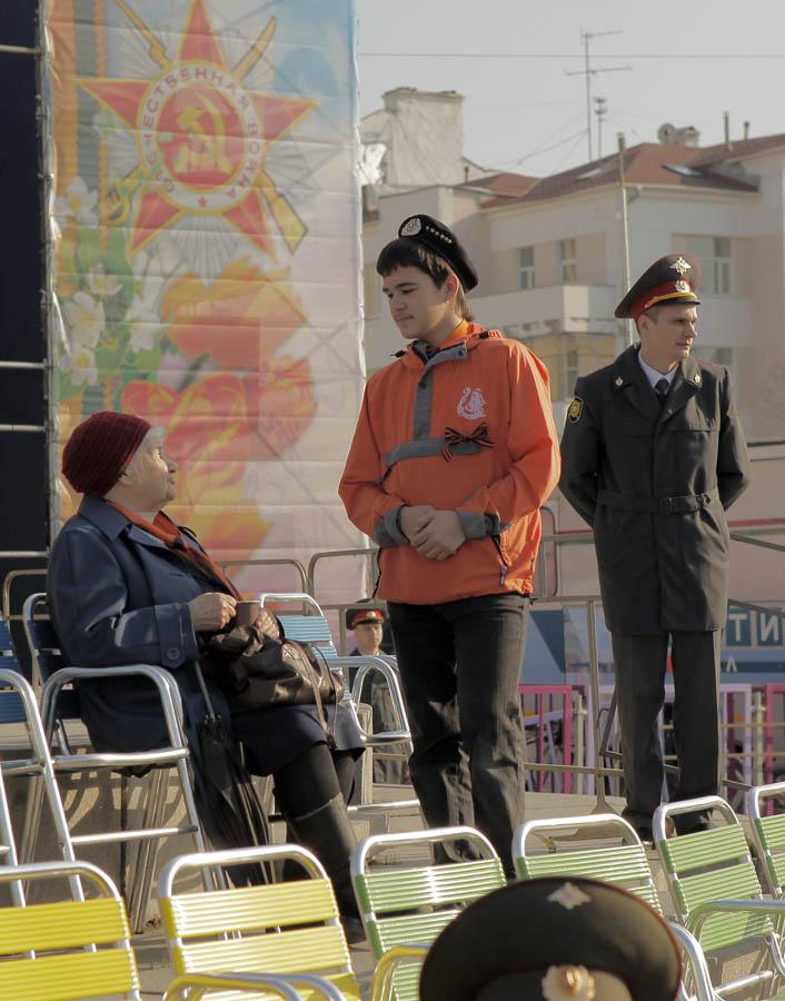 Каравелльцы встречают ветеранов 9 мая 2012 года