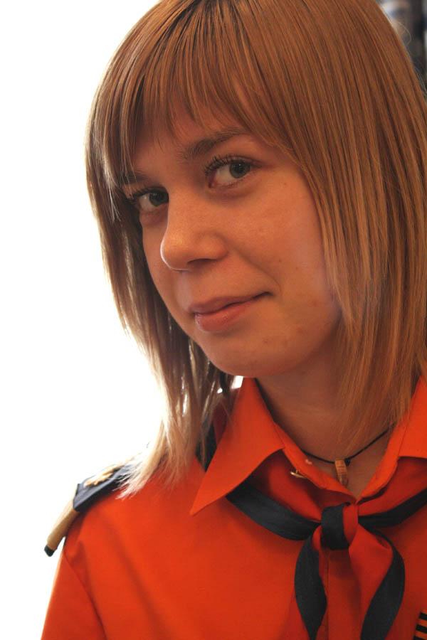 Алёна Хазинурова, капитан-инструктор отряда «Каравелла»
