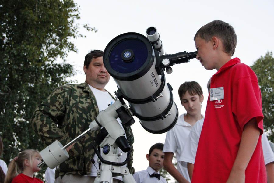 Практический урок морской астрономии с Андреем Завьяловым