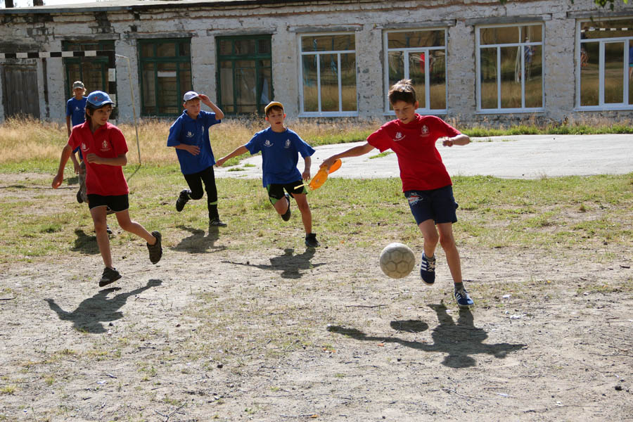 Футбольные баталии сбора РВО России