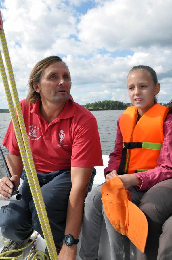 Максим Таранов с дочерью