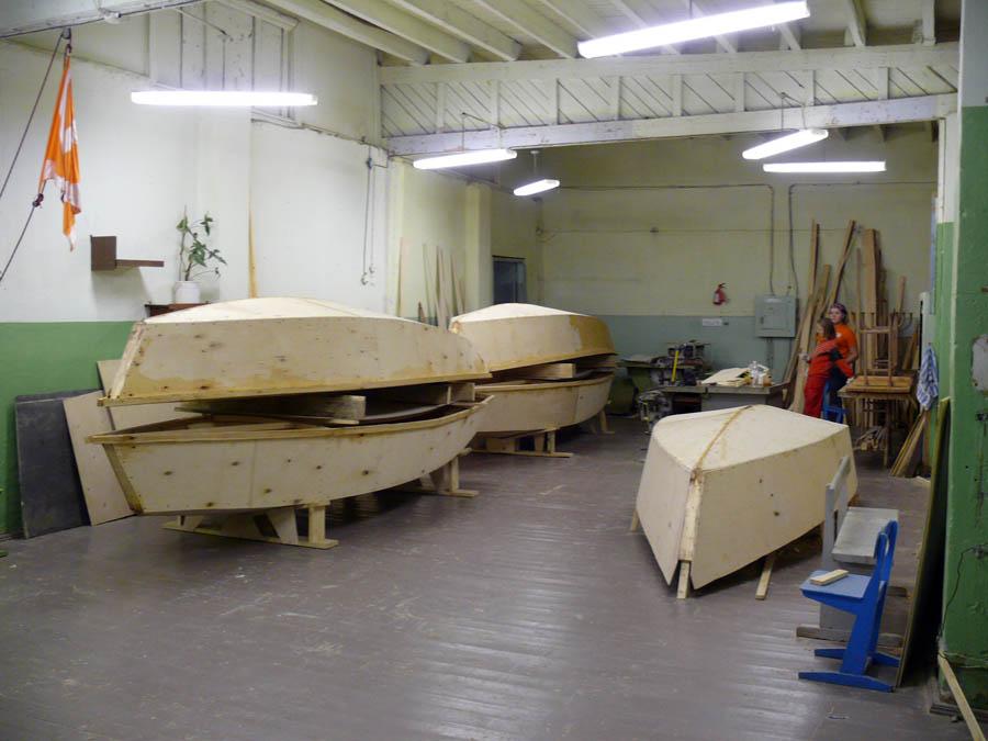 Пять корпусов наших новых яхт