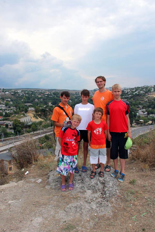 Каравелльцы на фоне легендарного Севастополя (август 2012)