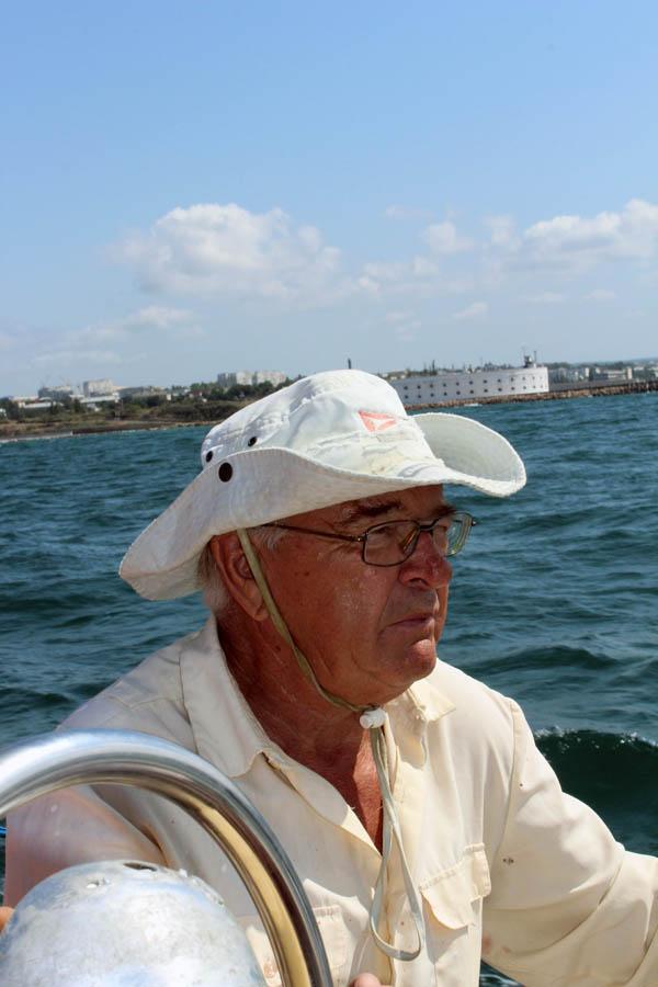 Олег Леонидович Ветров, почётный командор отряда «Каравелла»