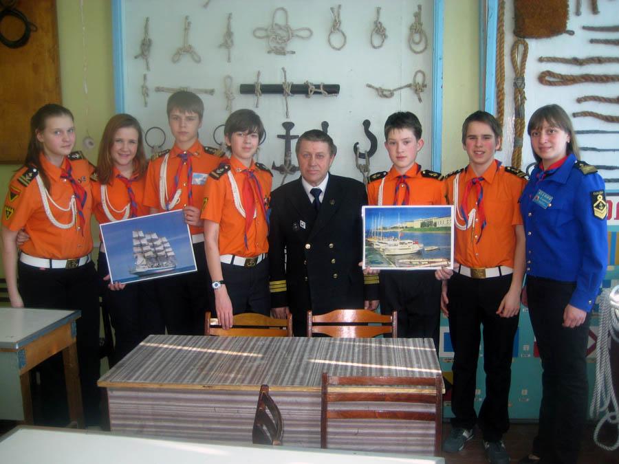 Делегация «Каравеллы» в Северном морском музее