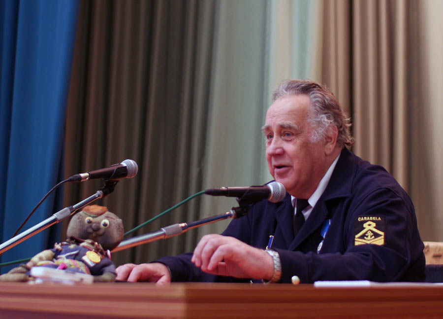 В.П. Крапивин в Уральском федеральном университете на встрече с читателями