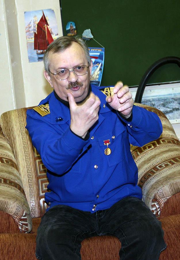 Почётный командор отряда Сергей Казанцев рассказывает о тайнах инопланетян