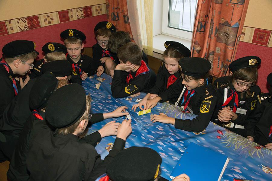 Игра в «новые» солдатики быстро захватывает каравелльцев