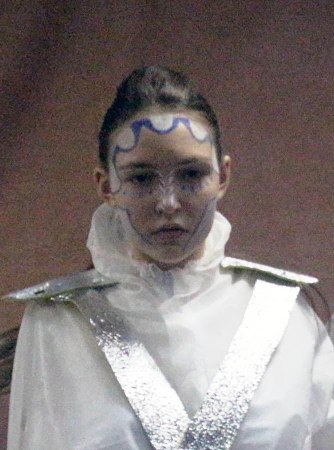 Ледяная фигура - Настя Шибаева исполняет танец под «Реквием по мечте»