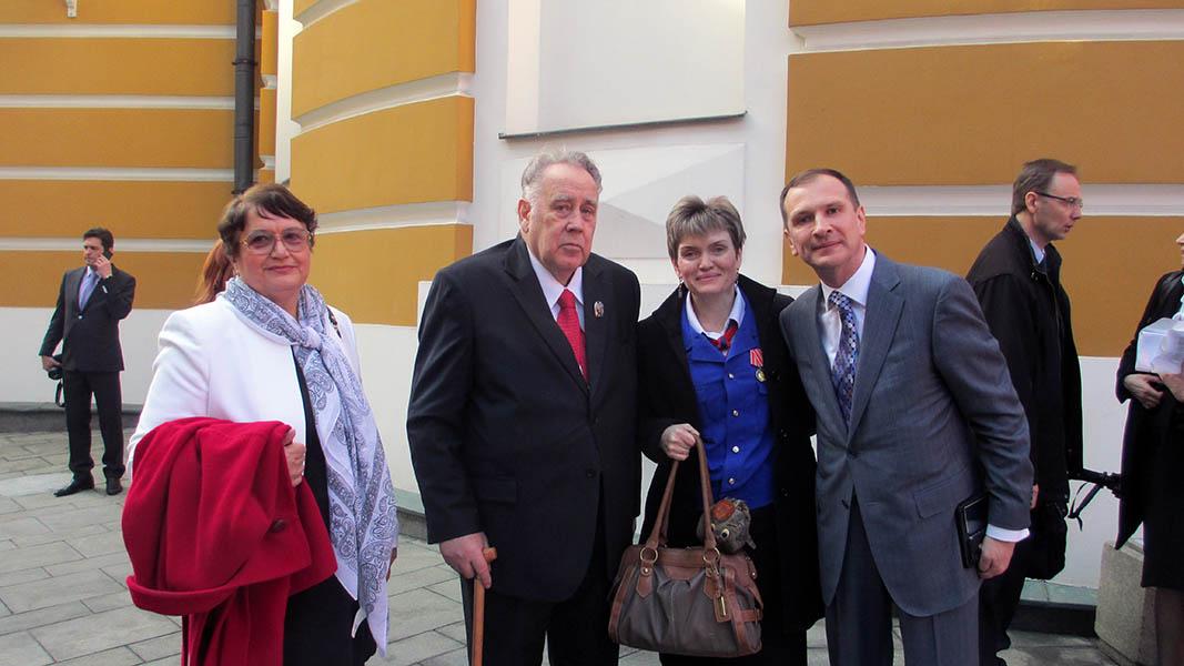 Our heroes in the Kremlin