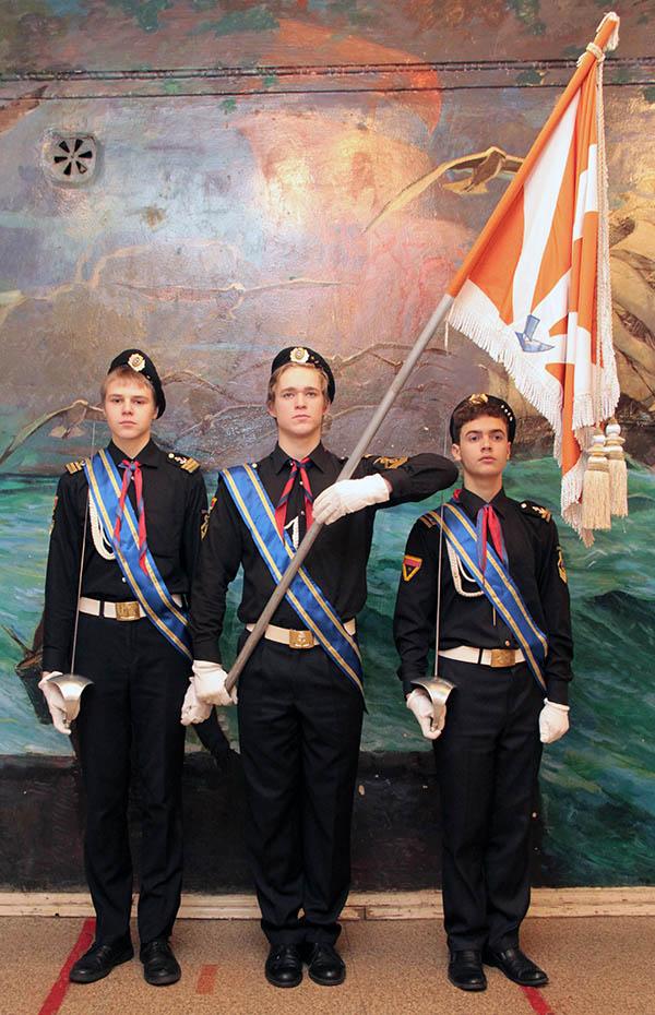 Знамя пресс-центра и парусной флотилии «Каравелла» было принято 31 октября 1999 года