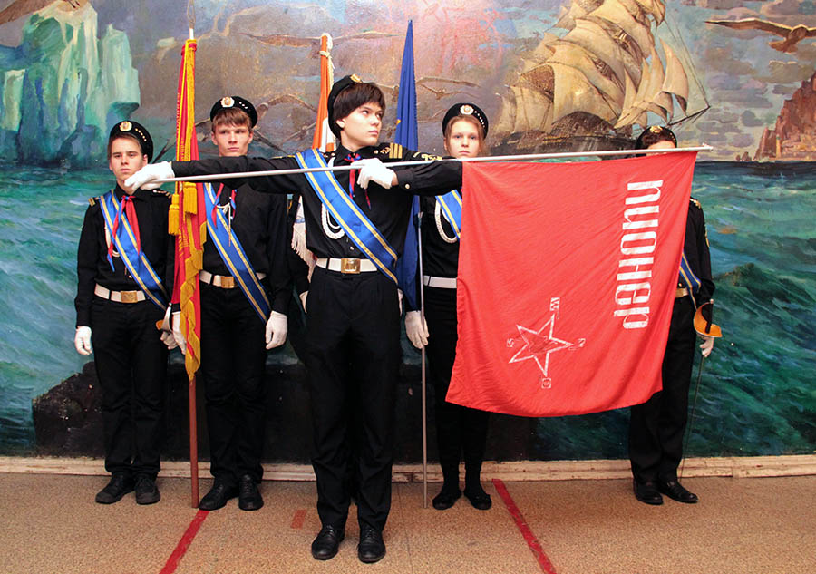 «Пионер» – корреспондентское знамя отряда