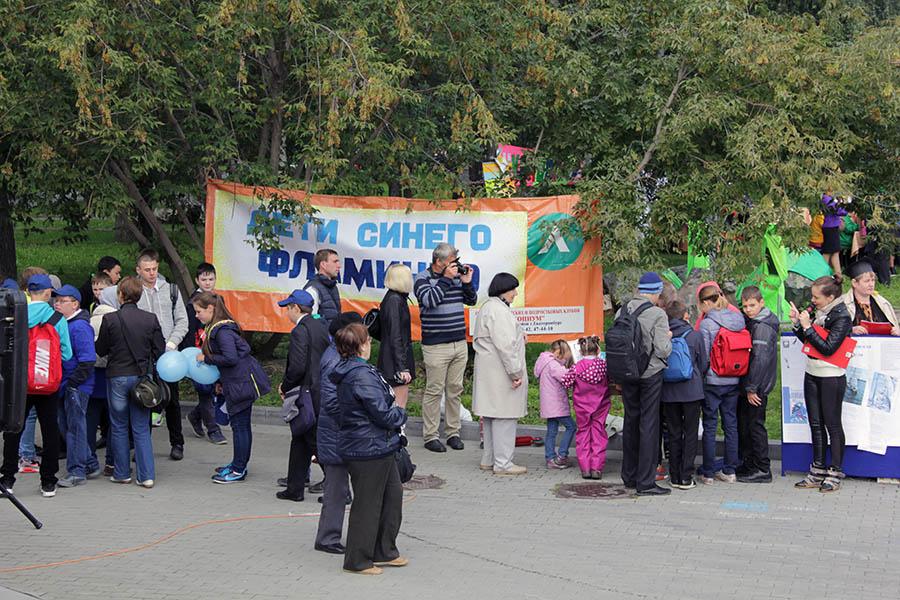 Площадка «Дети синего фламинго», посвящена творчеству Владислава Крапивина