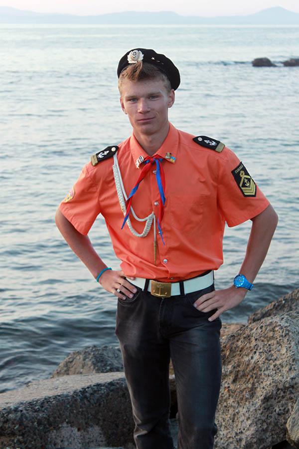 Советник отряда Валерий Сёмочкин