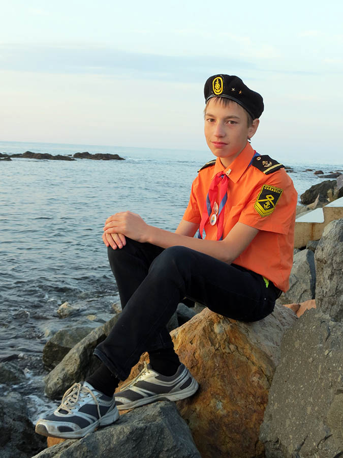 Женя Котюнин – чемпион по туризму среди юниоров