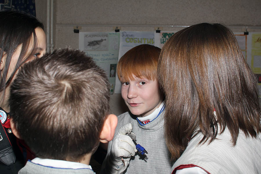 Алексей Понамарёв делится впечатлениями со своей командой