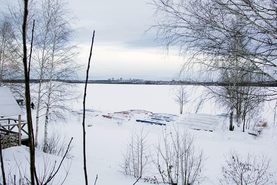 Спасённый от снега флот отряда «Каравелла» на базе ЕМШ