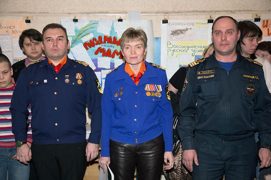 Слева направо: Всеволод Доможиров, Лариса Крапивина, Сергей Кабаков