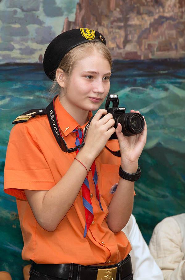 Таня Малыгина - фотограф, зритель, участник и призёр турнира