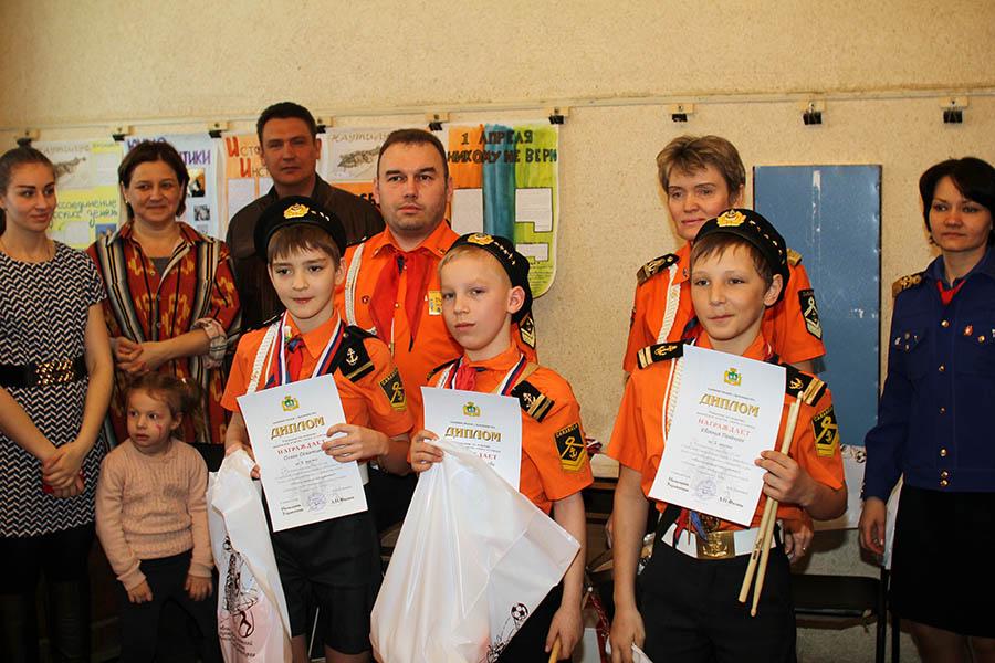 Финалисты: Олег Сёмочкин, Валера Кравцов и Женя Печёный