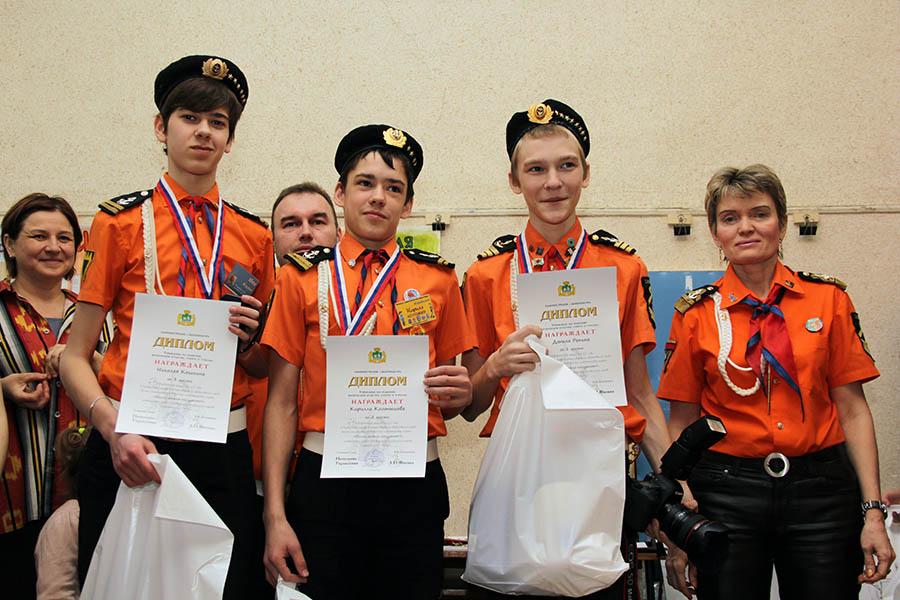 Финалисты: Ник Кошкин, Кирилл Колтышев и Данил Репин