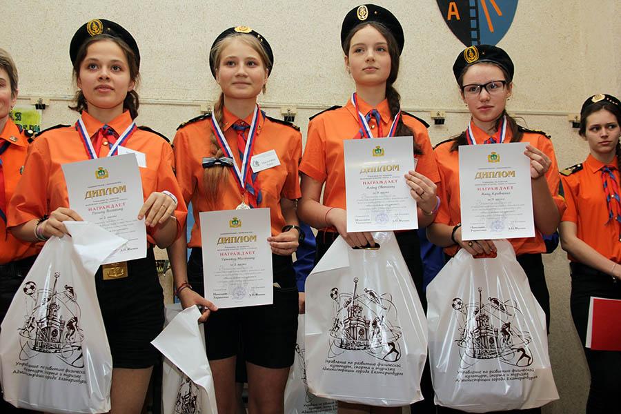 Финалисты: Полина Вольхина, Таня Малыгина, Алёна Светкина и Аня Кравченко