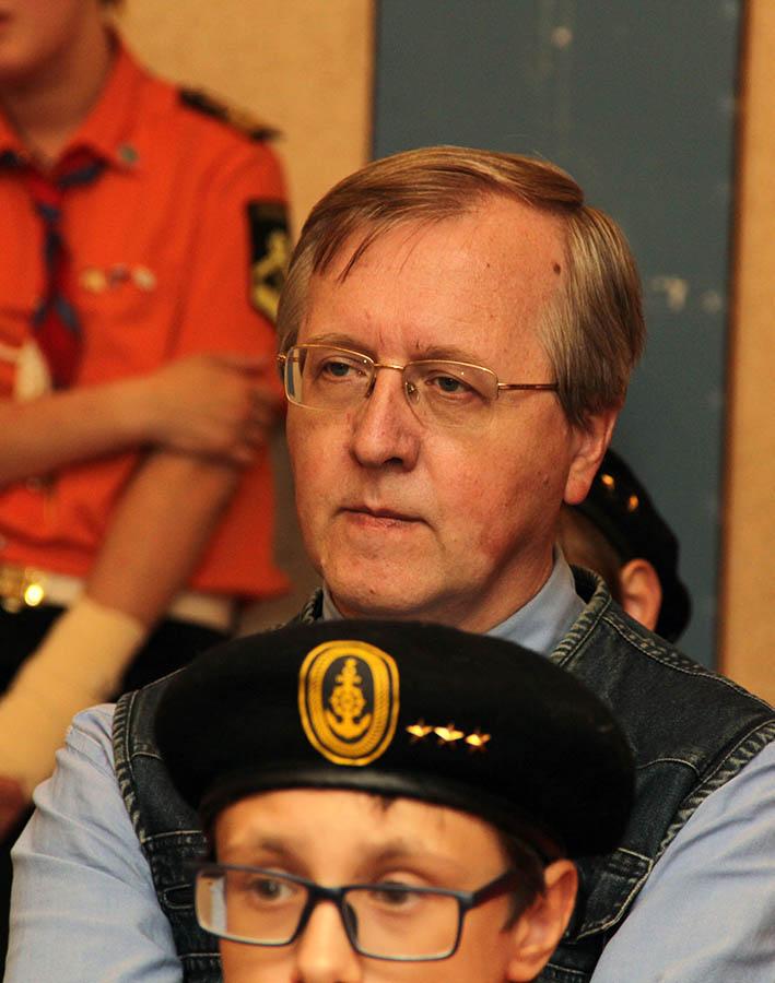 Александр Соколов на пресс-конференции в отряде