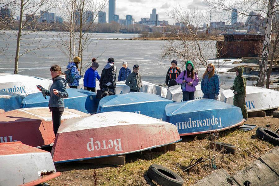 Каравелльцы встретились со своими лодками после долгой зимы