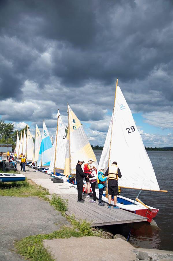 Флотилия готова к октрытию навигации Морской школы и к гонкам