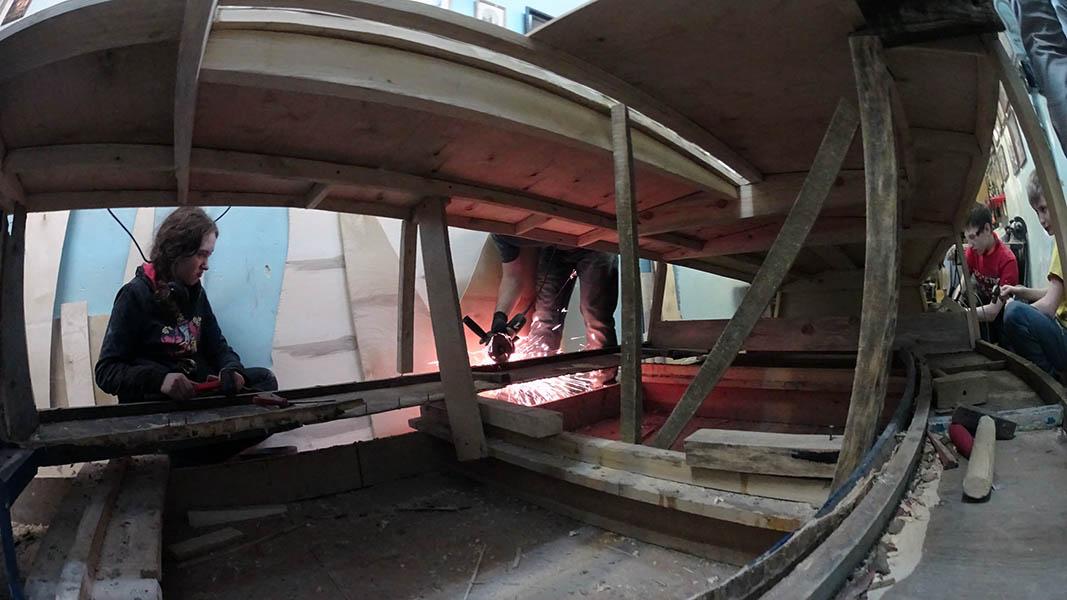 Каравелльцы «разносили» яхту аккуратненько