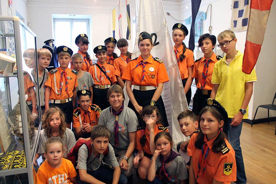 Лучшие юнкоры отрядов «Каравелла» и «Сполох» в музее Екатеринбурга