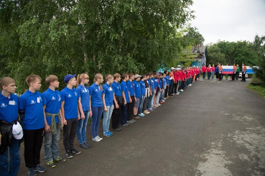 Орлетовцы облачились в униформу сборов РВО