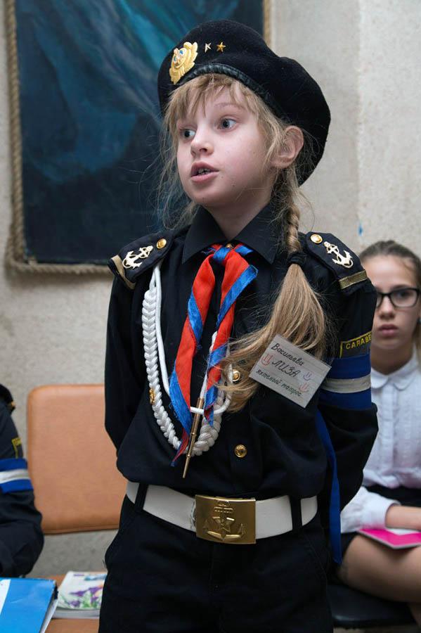 Лиза Васильева одна из первых активно включилась в дискуссию