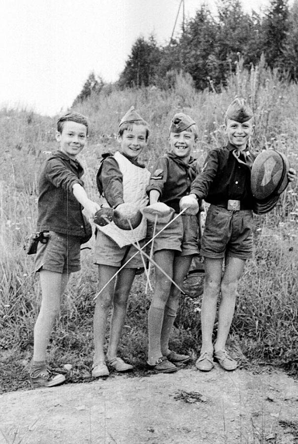 Фехтование в отряде не только спорт, но и воспитание духа