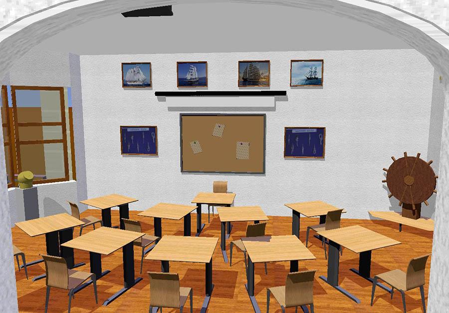 Будущий штурманский класс (проект: В.Доможиров; иллюстрация: А.Копылов)