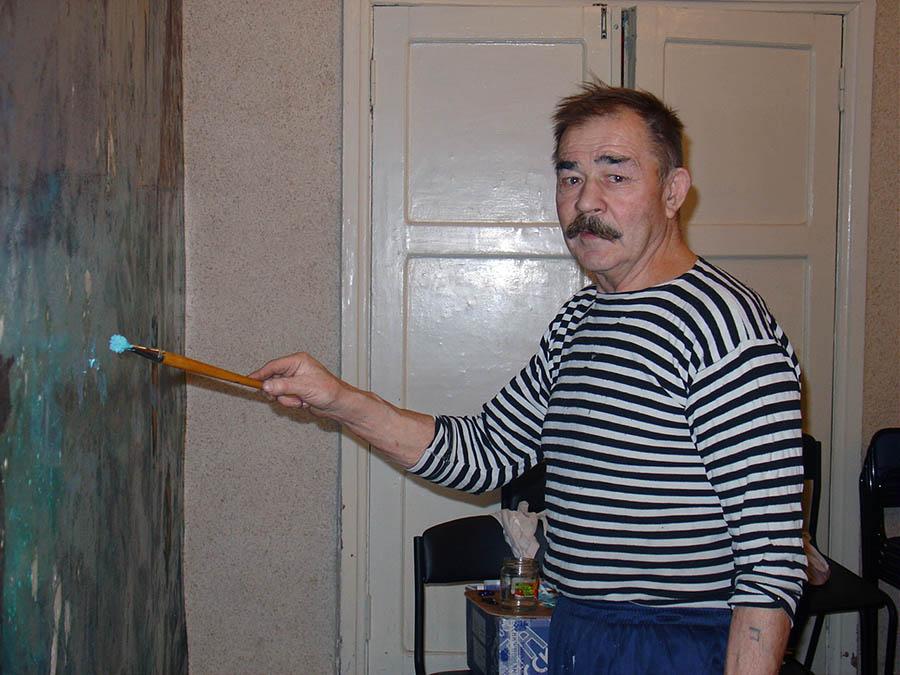 Е.И. Пинаев: Я свои настенные росписи никак не называл...