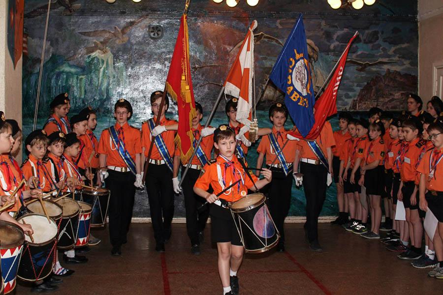 Гвардейские группы - основные организаторы общих сборов в отряде