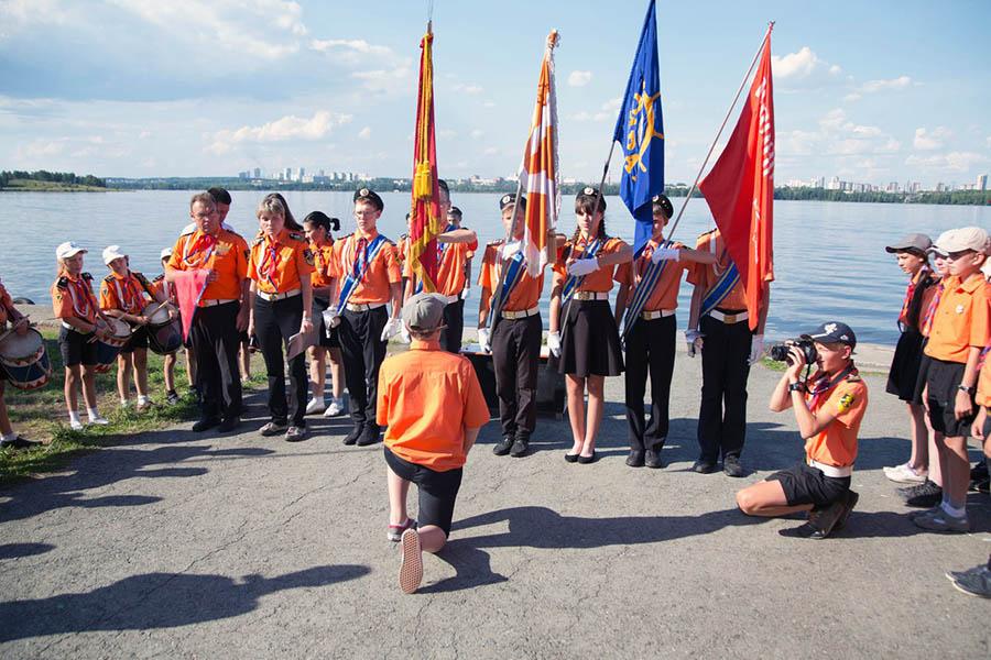 Посвящение в ряды каравелльцев, впервые проходит на базе ЕМШ
