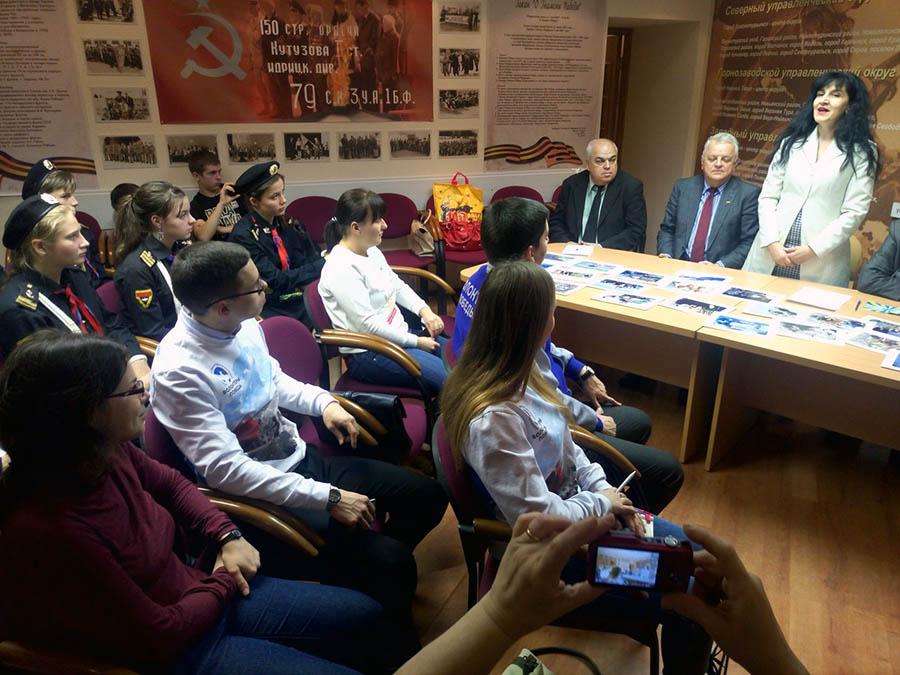 Лидеры молодёжных объединений общаются с представителями ветеранских организаций Болгарии