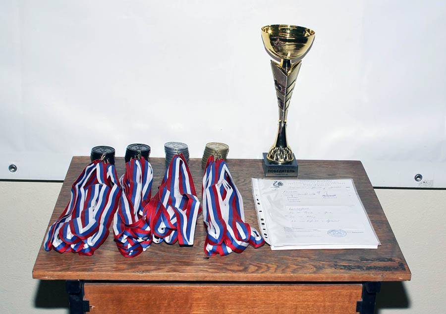 Награды от Управления по развитию физической культуры, спорта и туризма Администрации города Екатеринбурга