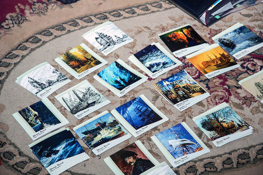 Открытки с картинами Е.И. Пинаева - отличная память о художнике