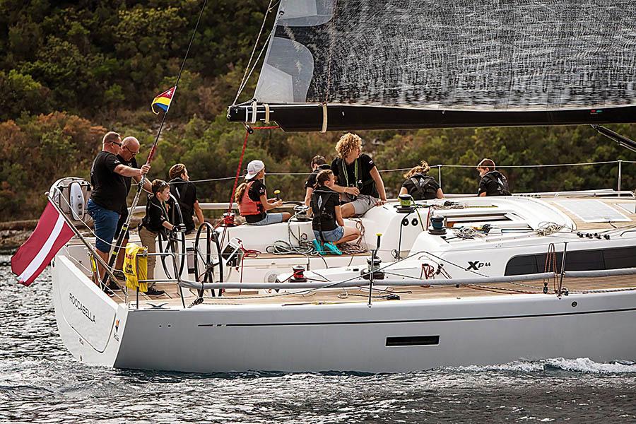 Программа на гоночной яхте Rocabella дала старт