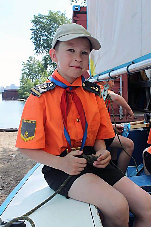 Иван Нефёдов, яхтенный матрос парусной флотилии «Каравелла»