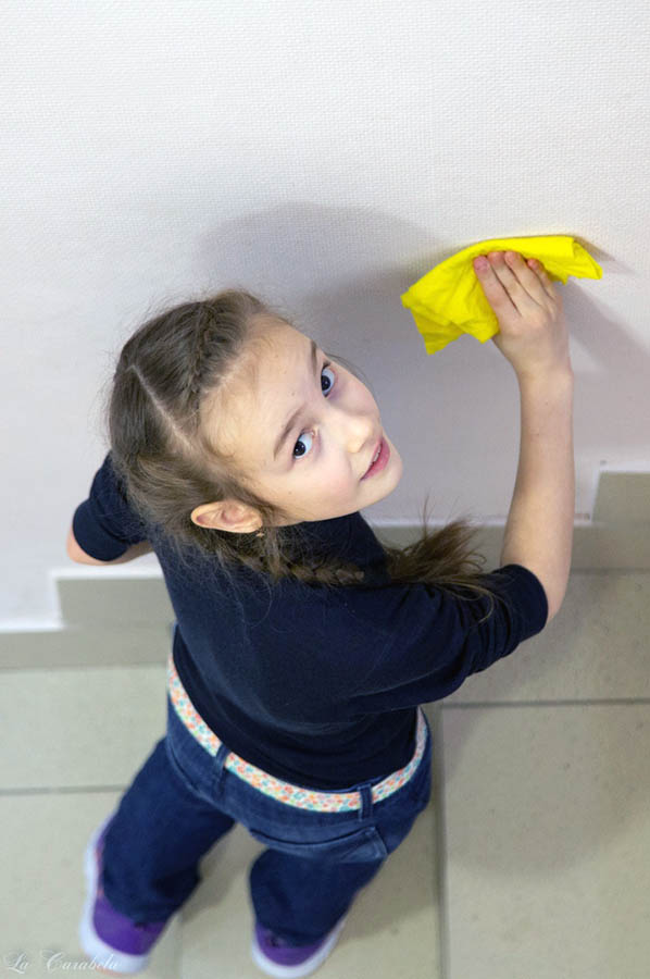 Отмыть стены от случайных «почеркушек» оказалось непростой задачей
